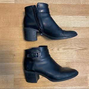 Geox Respira Leather Ankle Boots